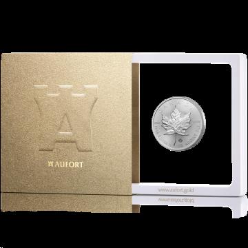 Hõbemünt Kanada Maple Leaf 31,1 g (1 oz) kinkekarbis