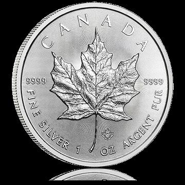 Hõbemünt Kanada Maple Leaf 31,1 g (1 oz)