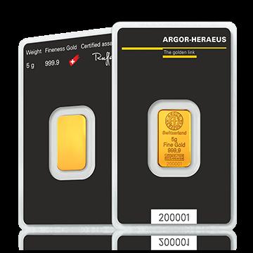 Kuldplaat 5 g