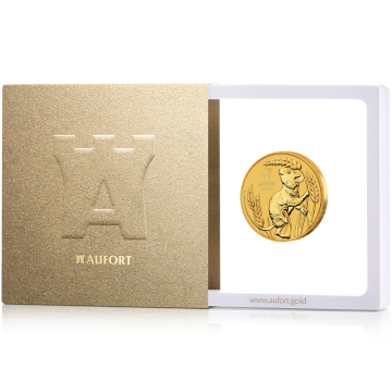 Kuldmünt 31,1 g (1 oz) kinkekarbis - sõltuvalt laovalikust