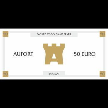 Aufort kinkekaart 50 €