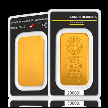 Kuldplaat 100 g