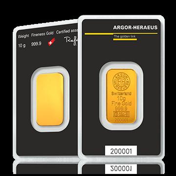 Kuldplaat 10 g